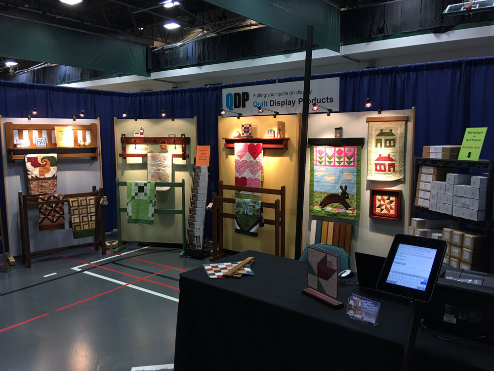 QDP Quilt Show Booth