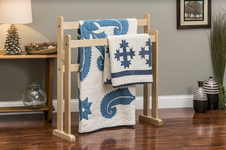 Contemporary Style Quilt Display Products